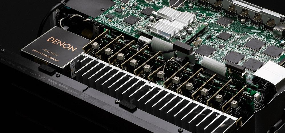 AVC-X6500 H conception amplificateurs de puissance monolithique