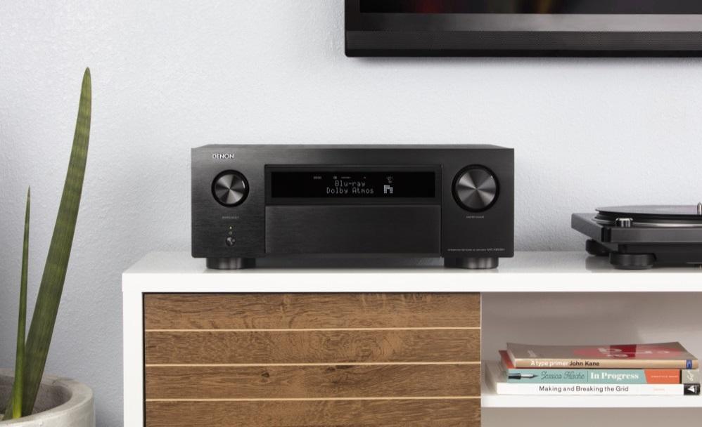 Amplificateur home-cinema, 11x140 Watts, Audyssey MutlEQ XT32, Dolby Atmos, Auro-3D, DTS-X, HEOS