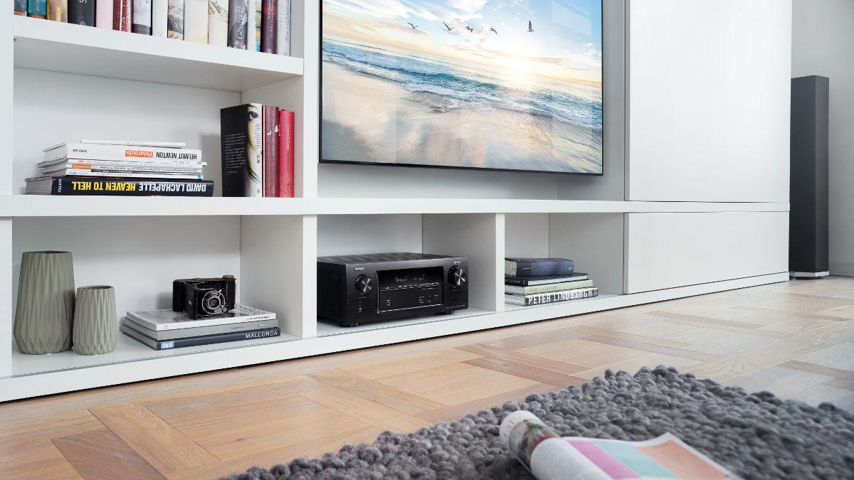 Ampli-tuner AV Denon AVR-X2400H, 7.2 canaux, 4K, Dolby Atmos,