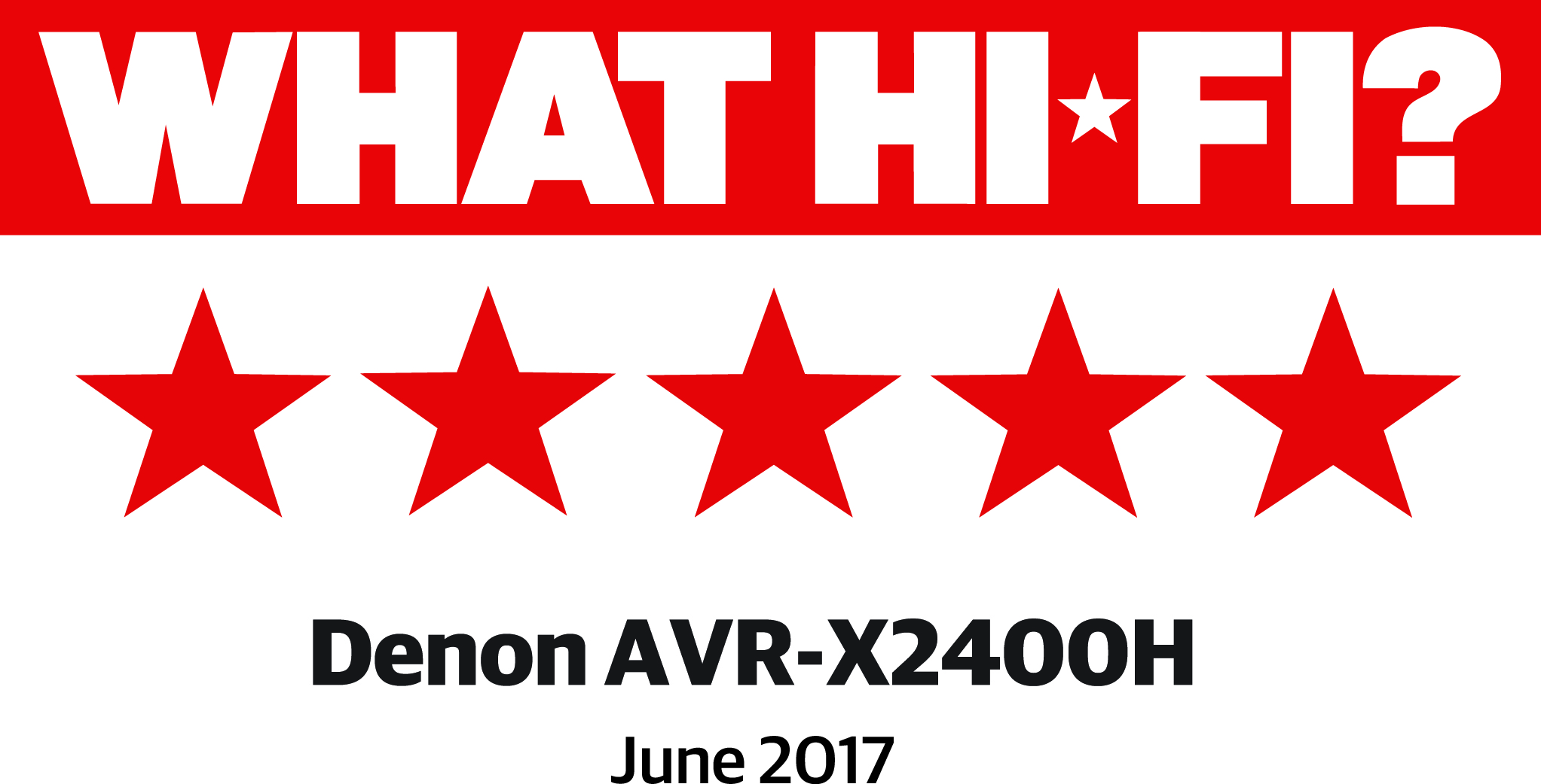 DENON AVR-X2400 H
