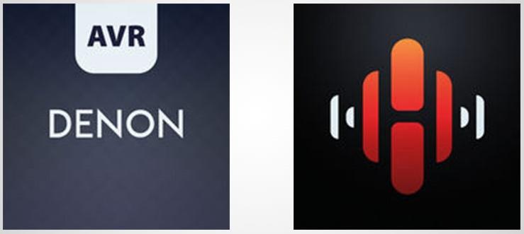 """Denon AVR-X2400H, application """"Denon 2016 AVR Remote"""""""