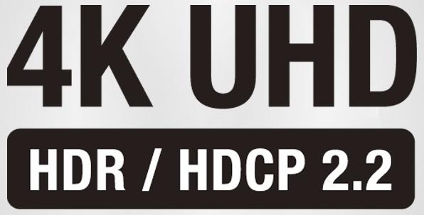 Denon AVR-X2400H, upscal 4K