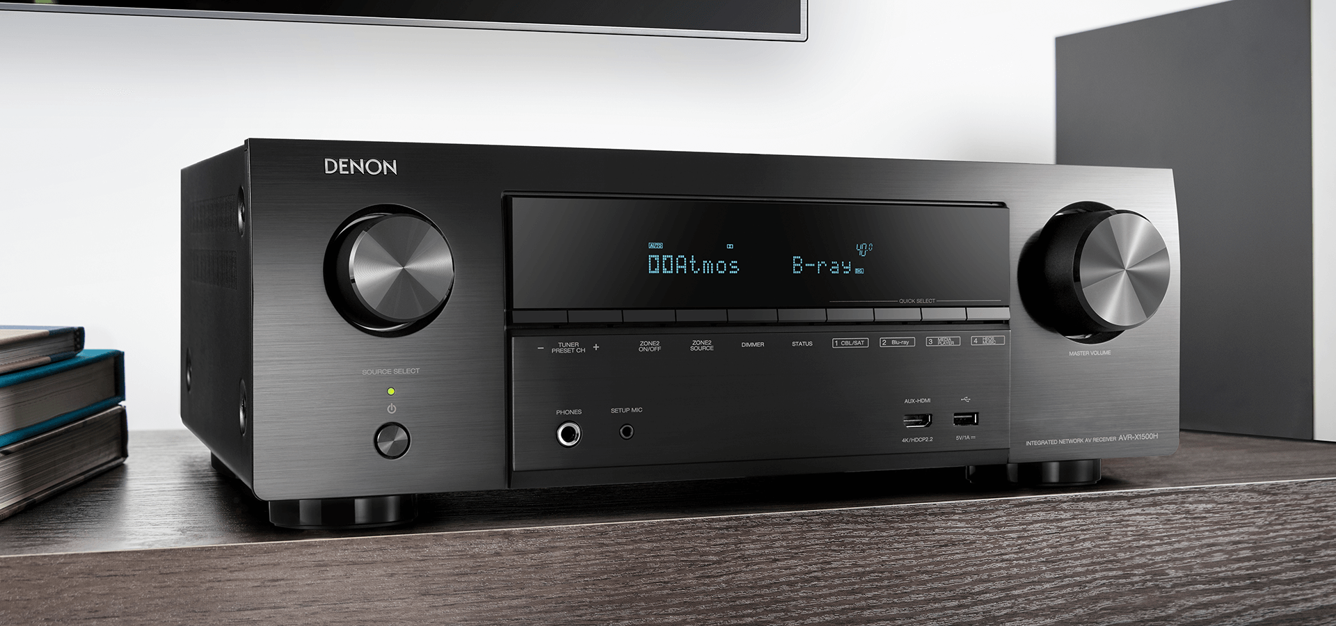 Denon AVR-X1500 H, amplificateur 7 canaux