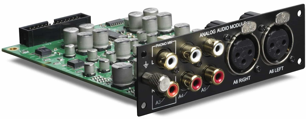 Amplificateur Lyngdorf TDAI-3400, Module optionnel d'entrée analogique