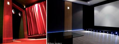 Installation d'une salle de cinéma privée à Lyon