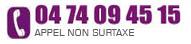 Appelez-nous au 04.74.09.45.15