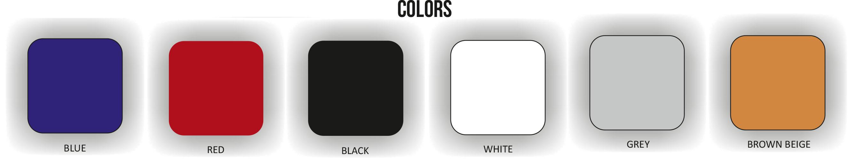 Coloris des panneaux acoustiques absorbants Leviter STM