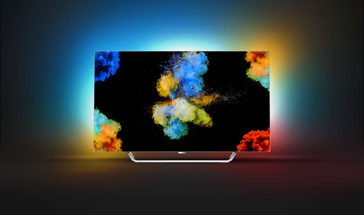 """Téléviseur OLED, 55"""", 4K Ultra HD, HDR, Smart TV, Philips 55POS9002"""