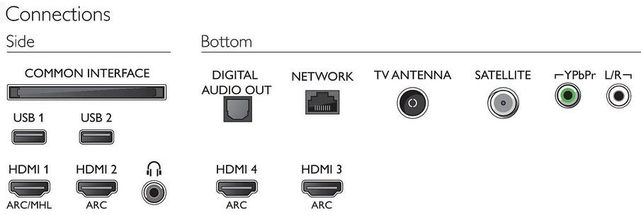 """Téléviseur OLED, 65"""", 4K Ultra HD, HDR, Smart TV, Philips 65OLED873"""
