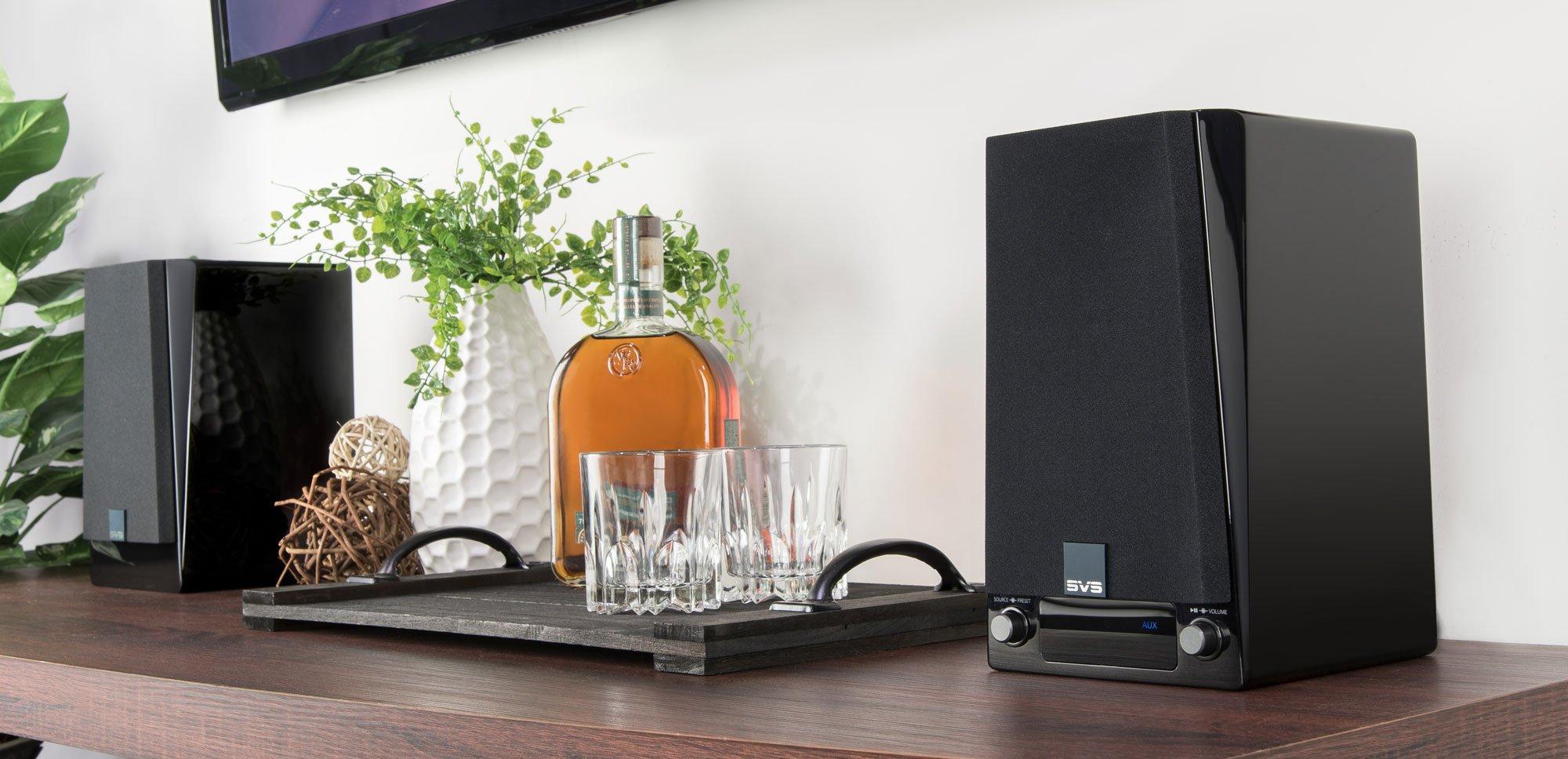 SVS Prime Wireless, enceintes actives sans fil DTS Play-Fi