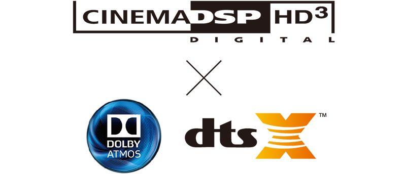 Yamaha AVENTAGE RX-A2080, Cinema DSP HD3