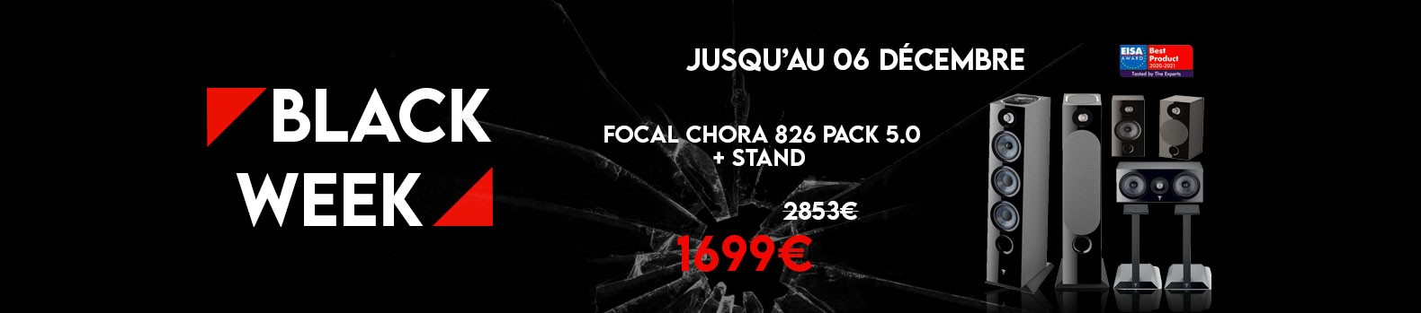 Le pack 5.0 Focal Chora 826 en promotion !