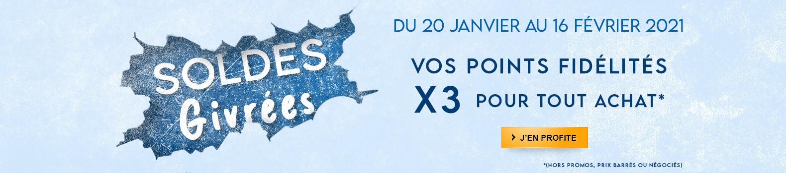 Points fidélités x3 jusqu'au 16 février