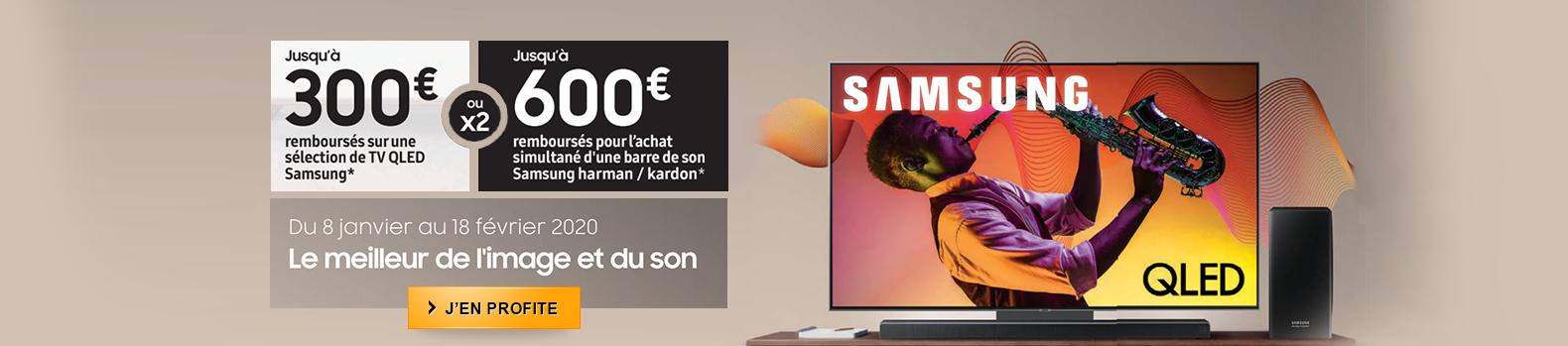 Jusqu'au 600 € remboursés par Samsung jusqu'au 18 février 2020