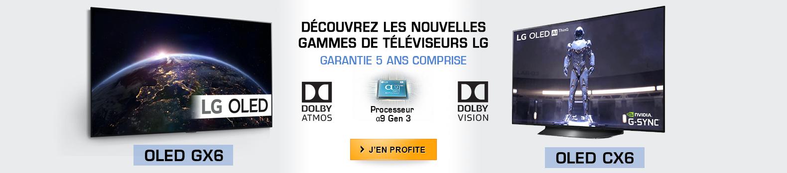 Découvrez les nouvelles gammes de téléviseurs OLED 4K LG