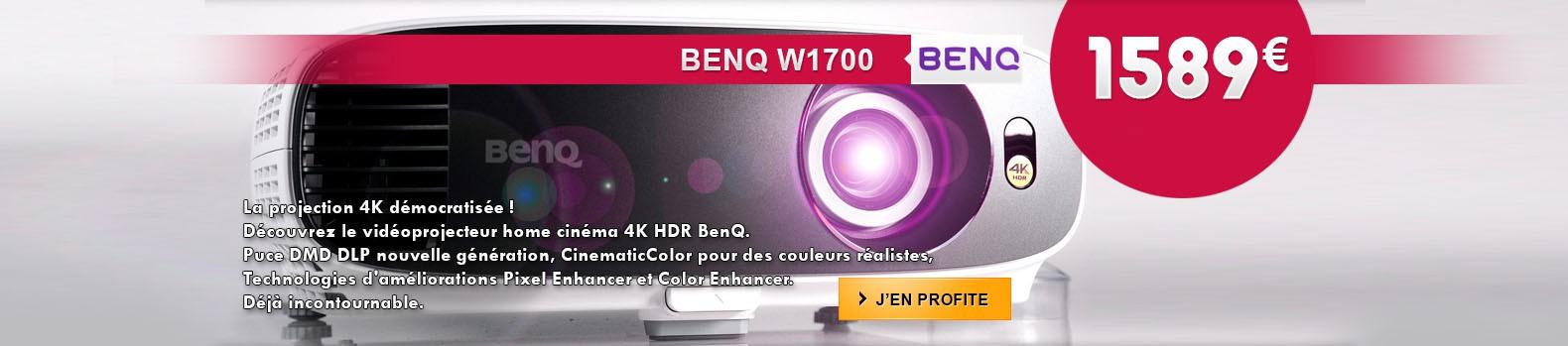 Nouveau projecteur 4K BenQ W1700