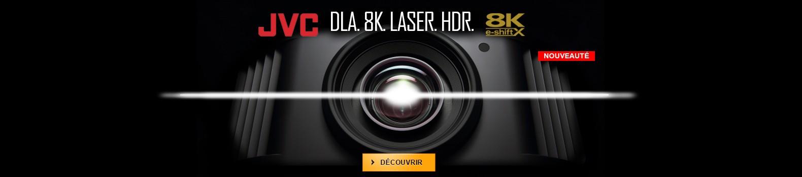 Nouveaux vidéoprojecteurs JVC DLA 8K e-shiftX