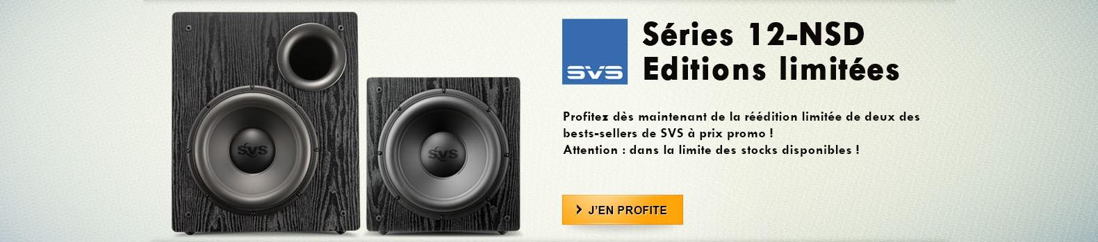 Subwoofers SVS 12-NSD Edition Spéciale à prix promo