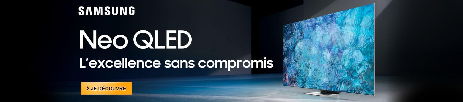 Nouveaux téléviseurs Samsung Neo QLED : l'excellence sans compromis